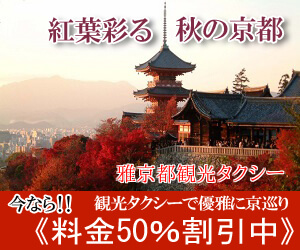 紅葉を彩る秋の京都